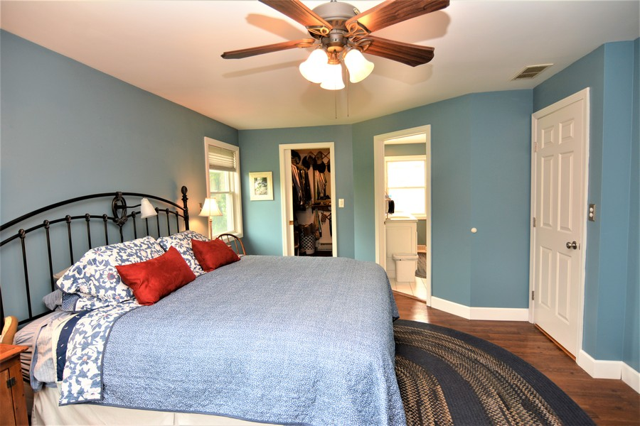 Real Estate Photography - 24740 W. Miller Road, Barrington, IL, 60010 - Master Bedroom with spacious Walk-In Closet