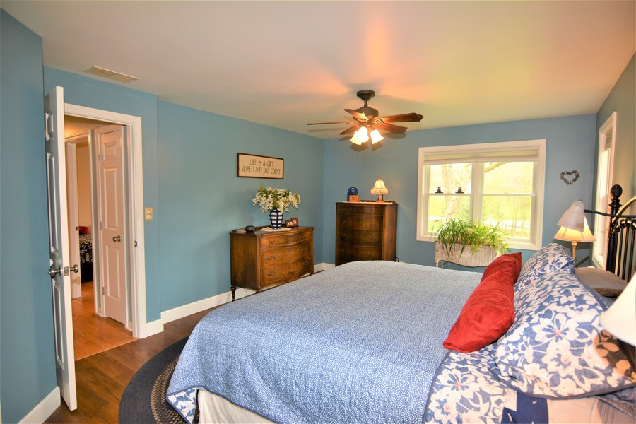 Real Estate Photography - 24740 W. Miller Road, Barrington, IL, 60010 - Master Bedroom view to East