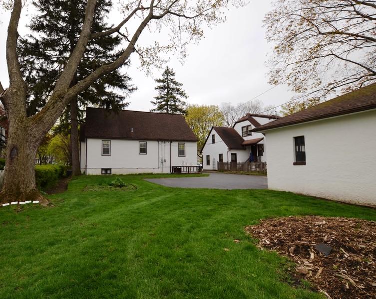 Real Estate Photography - 442 E. Lincoln Avenue, Libertyville, IL, 60048 - Rear View of Home
