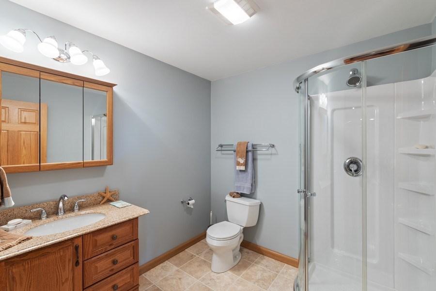 Real Estate Photography - 1229 S. Patrick Lane, Palatine, IL, 60067 - Basement Bathroom