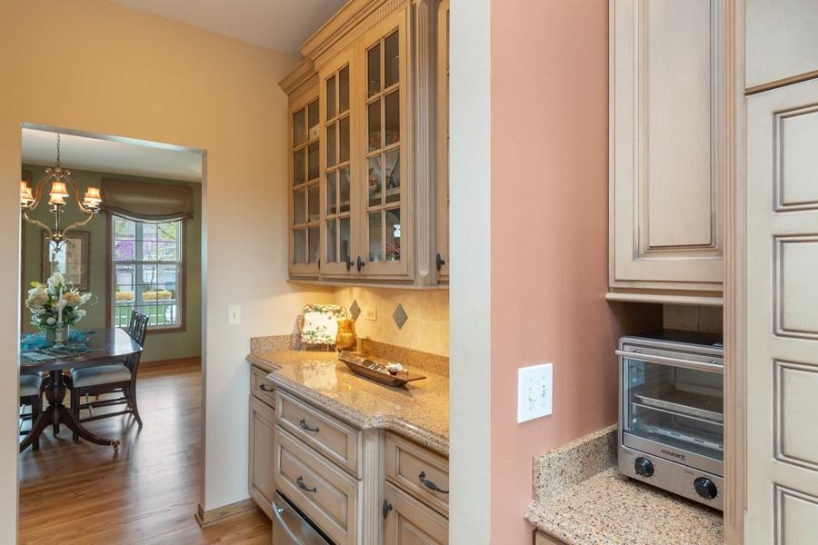 Real Estate Photography - 1229 S. Patrick Lane, Palatine, IL, 60067 - Butler's pantry