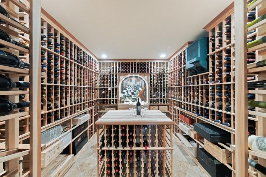 Real Estate Photography - 1229 S. Patrick Lane, Palatine, IL, 60067 - Wine Cellar