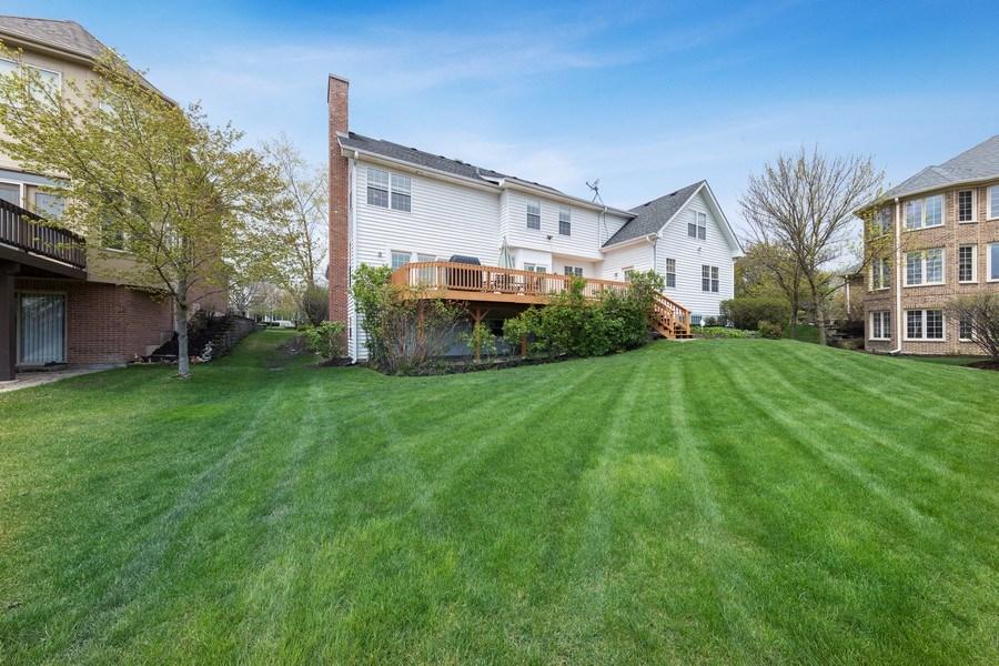 Real Estate Photography - 1229 S. Patrick Lane, Palatine, IL, 60067 - Back Yard