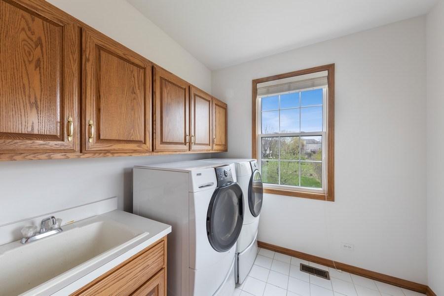 Real Estate Photography - 1229 S. Patrick Lane, Palatine, IL, 60067 - Laundry Room