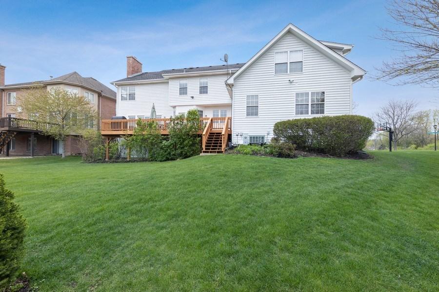 Real Estate Photography - 1229 S. Patrick Lane, Palatine, IL, 60067 - Rear View
