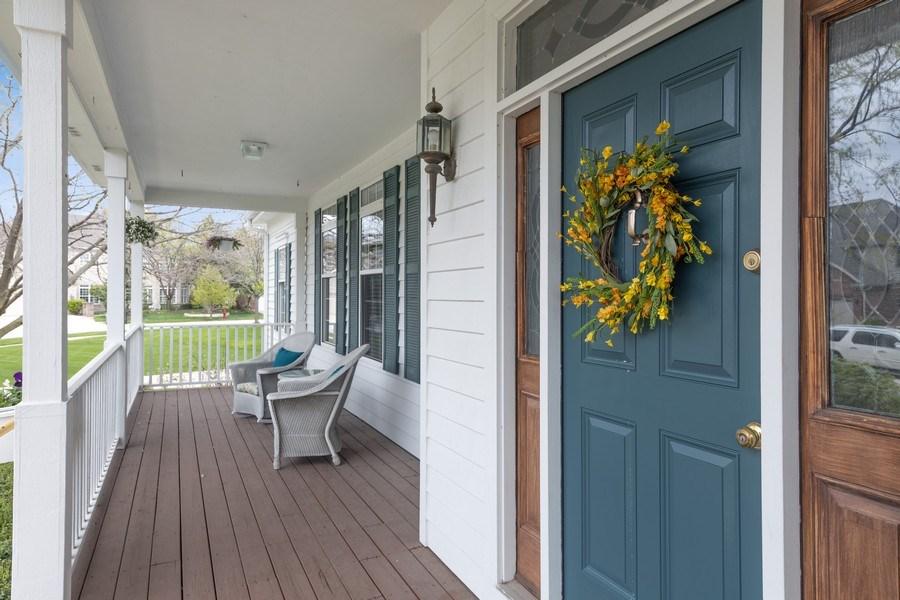 Real Estate Photography - 1229 S. Patrick Lane, Palatine, IL, 60067 - Porch