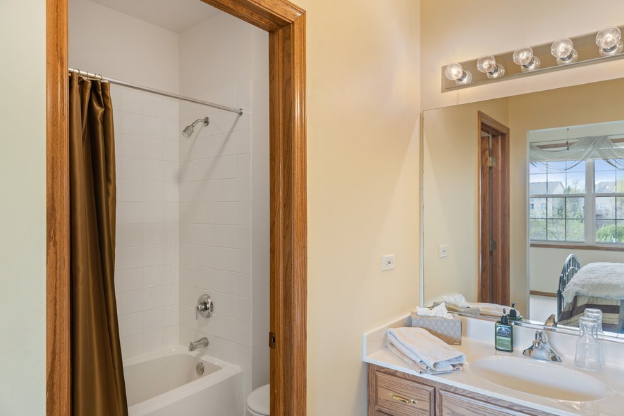 Real Estate Photography - 1229 S. Patrick Lane, Palatine, IL, 60067 - Guest 1st floor Bathroom