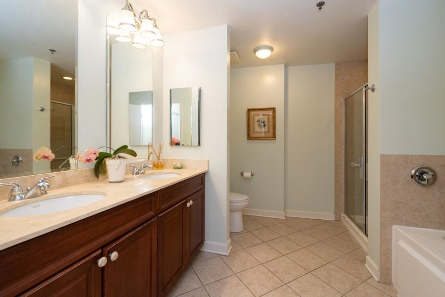 Real Estate Photography - 1841 S. Calumet Avenue, Unit 807, Chicago, IL, 60616 - Master Bathroom