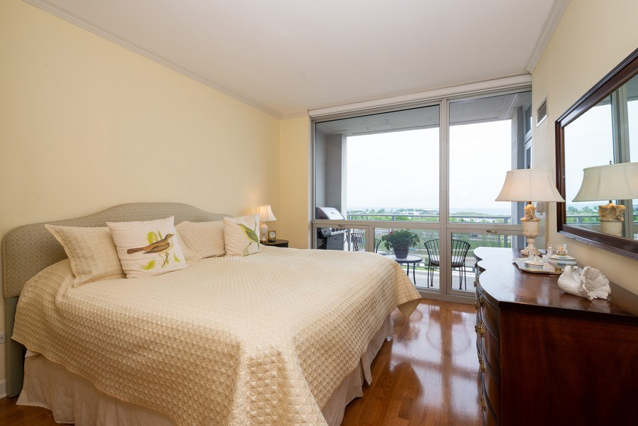 Real Estate Photography - 1841 S. Calumet Avenue, Unit 807, Chicago, IL, 60616 - Master Bedroom
