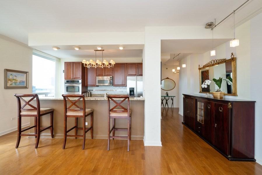 Real Estate Photography - 1841 S. Calumet Avenue, Unit 807, Chicago, IL, 60616 - Kitchen