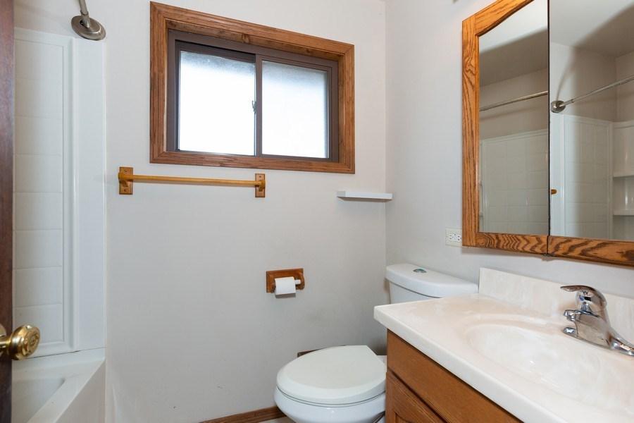 Real Estate Photography - 8955 Saratoga Drive, Bridgeview, IL, 60455 - Bathroom