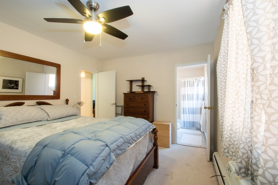 Real Estate Photography - 2726 Central Street, Unit 3A, Evanston, IL, 60201 - Master Bedroom