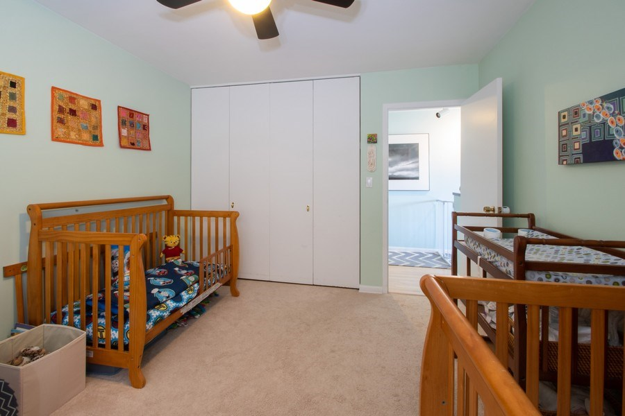 Real Estate Photography - 2726 Central Street, Unit 3A, Evanston, IL, 60201 - Bedroom