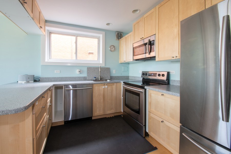 Real Estate Photography - 2726 Central Street, Unit 3A, Evanston, IL, 60201 - Kitchen