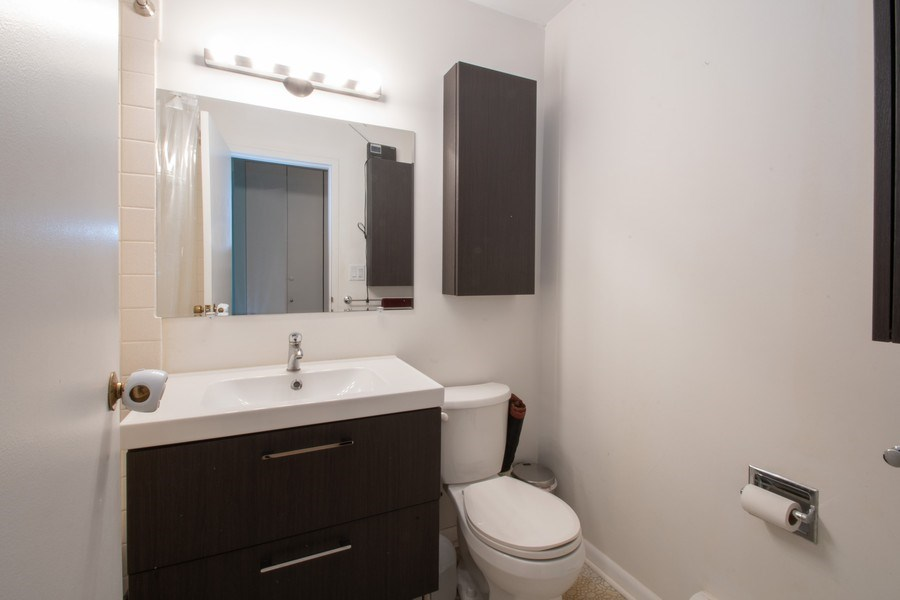 Real Estate Photography - 2726 Central Street, Unit 3A, Evanston, IL, 60201 - Bathroom