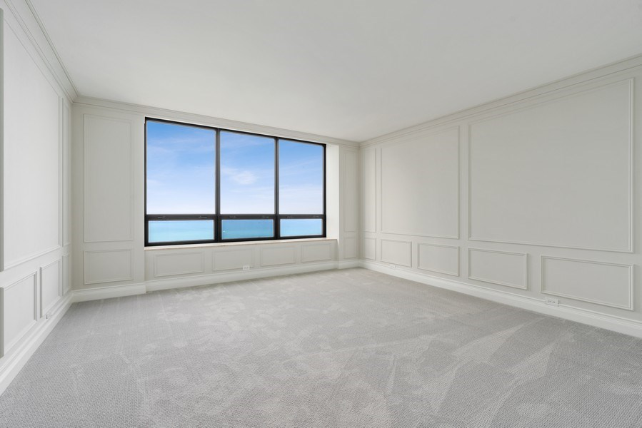 Real Estate Photography - 180 E. Pearson Street, Unit 6602, Chicago, IL, 60611 - Master Bedroom