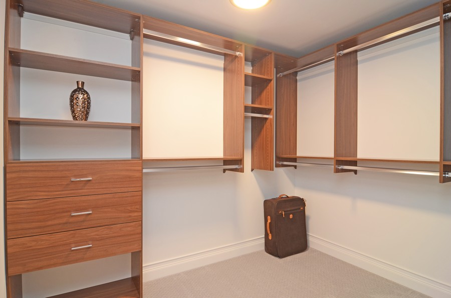Real Estate Photography - 180 E. Pearson Street, Unit 6602, Chicago, IL, 60611 - Master Bedroom Closet #2