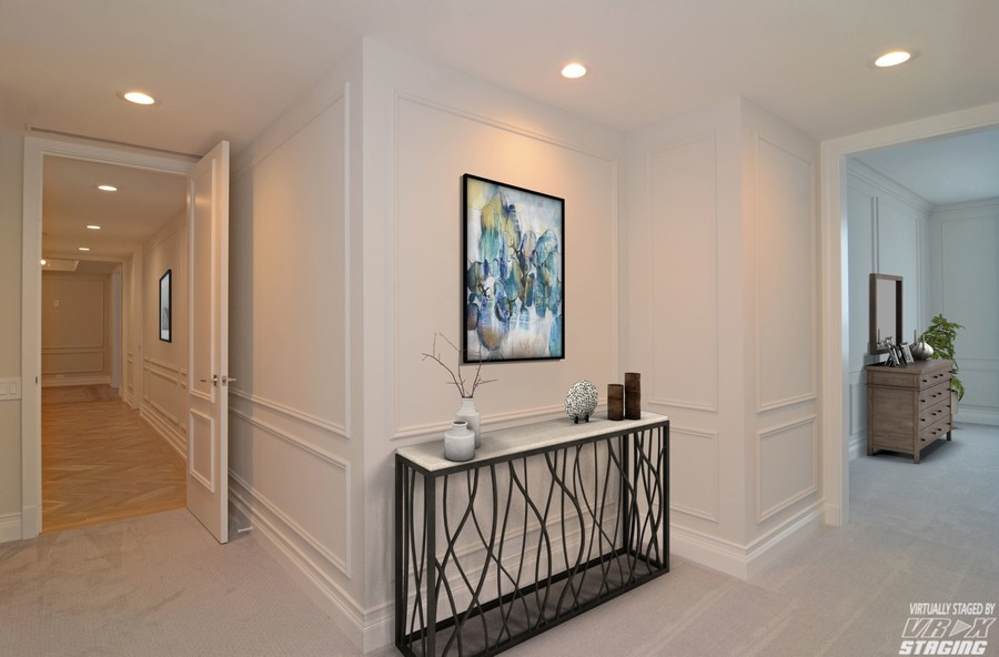 Real Estate Photography - 180 E. Pearson Street, Unit 6602, Chicago, IL, 60611 - Master Bedroom Foyer