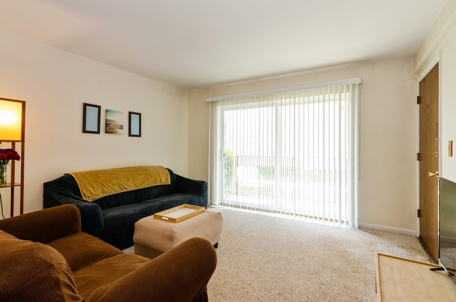 Real Estate Photography - 884 S. PLum Grove Road, Unit 111, Palatine, IL, 60067 - Living Room
