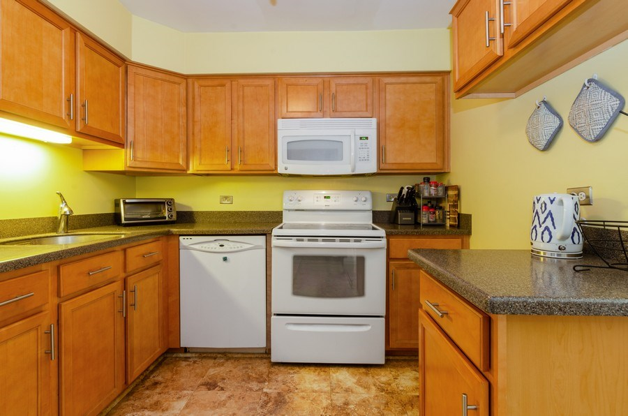 Real Estate Photography - 884 S. PLum Grove Road, Unit 111, Palatine, IL, 60067 - Kitchen