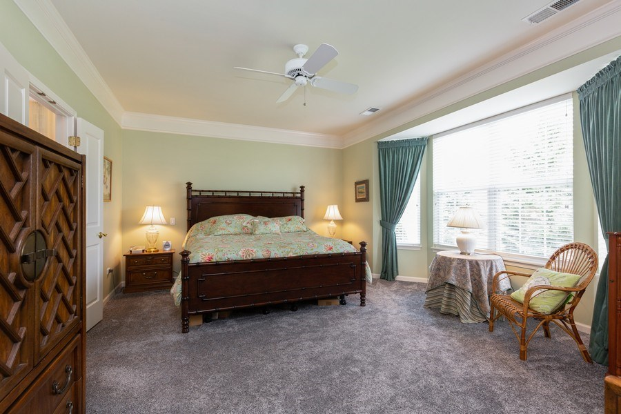 Real Estate Photography - 14082 Francesca Cove, Huntley, IL, 60142 - Master Bedroom