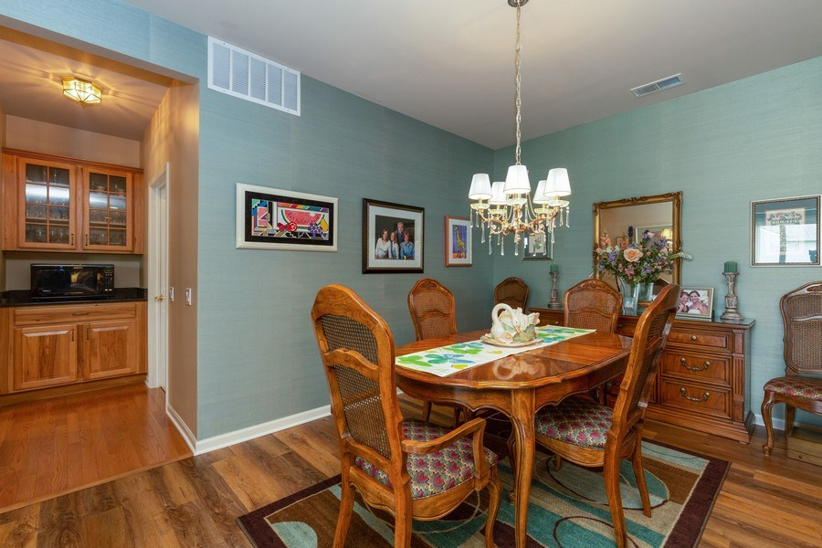 Real Estate Photography - 14082 Francesca Cove, Huntley, IL, 60142 - Dining Room