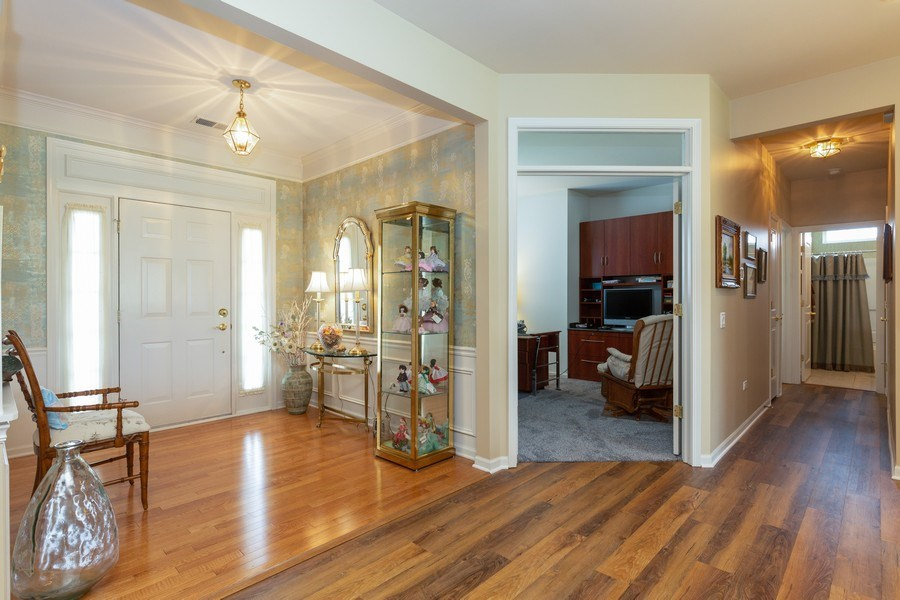 Real Estate Photography - 14082 Francesca Cove, Huntley, IL, 60142 - Foyer