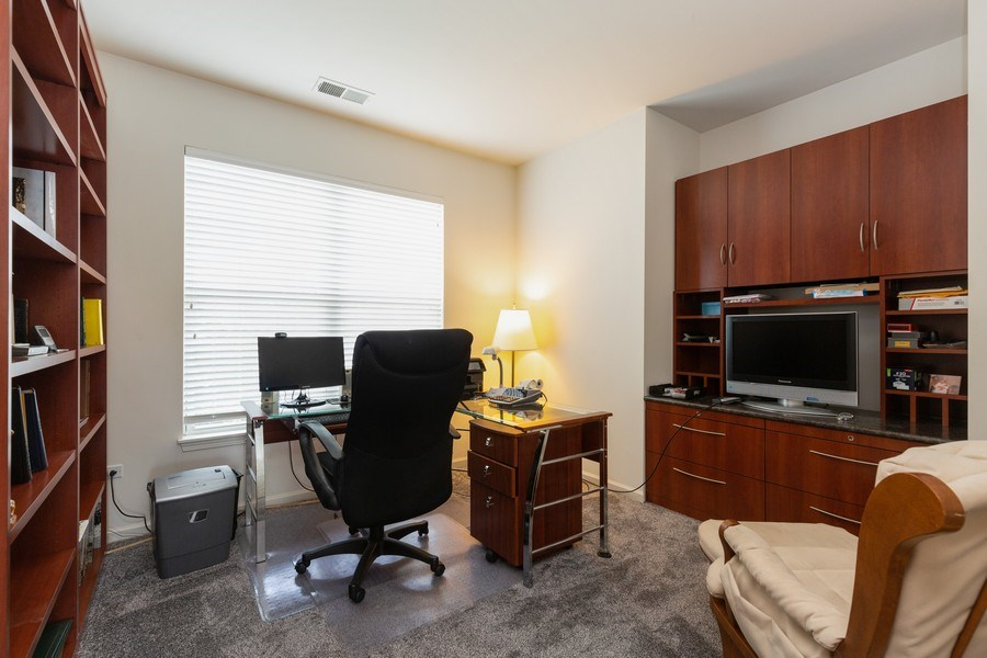 Real Estate Photography - 14082 Francesca Cove, Huntley, IL, 60142 - Office