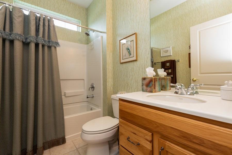 Real Estate Photography - 14082 Francesca Cove, Huntley, IL, 60142 - Bathroom