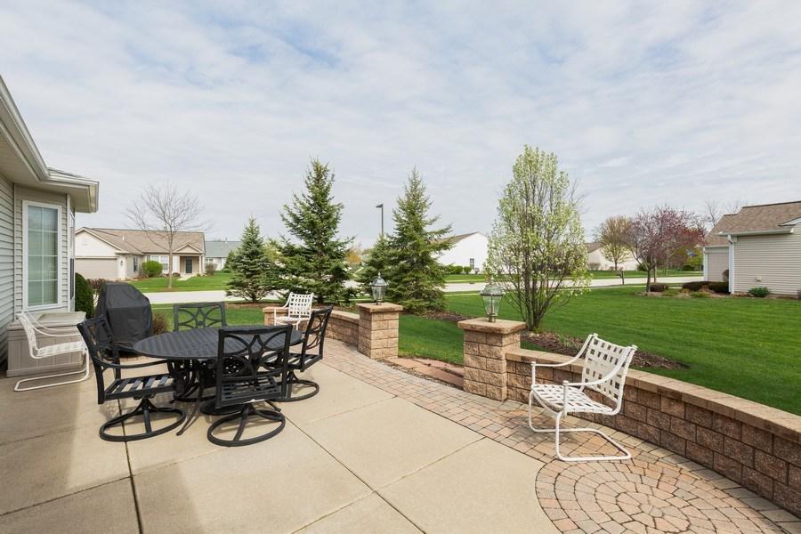Real Estate Photography - 14082 Francesca Cove, Huntley, IL, 60142 - Patio