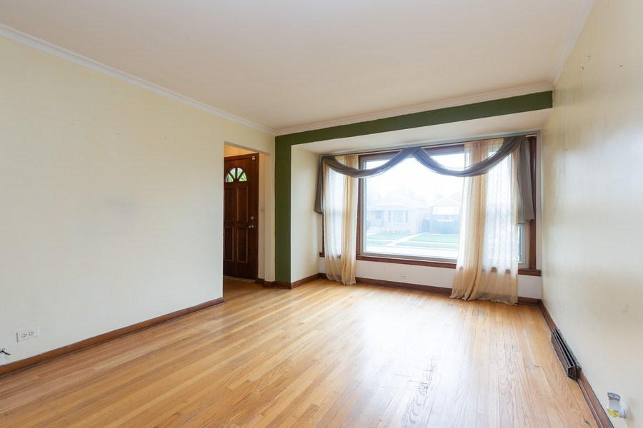 Real Estate Photography - 6834 S. Tripp Avenue, Chicago, IL, 60629 - Living Room