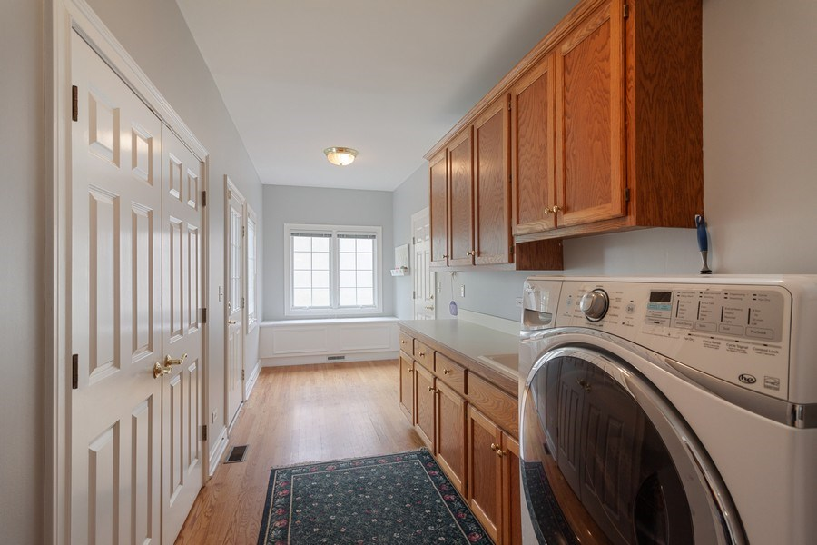Real Estate Photography - 2S375 Canterbury Court, Glen Ellyn, IL, 60137 - Laundry Room