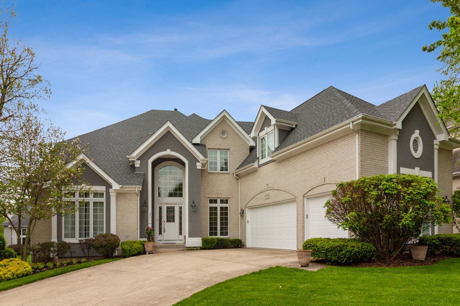 Real Estate Photography - 2S375 Canterbury Court, Glen Ellyn, IL, 60137 - Front View