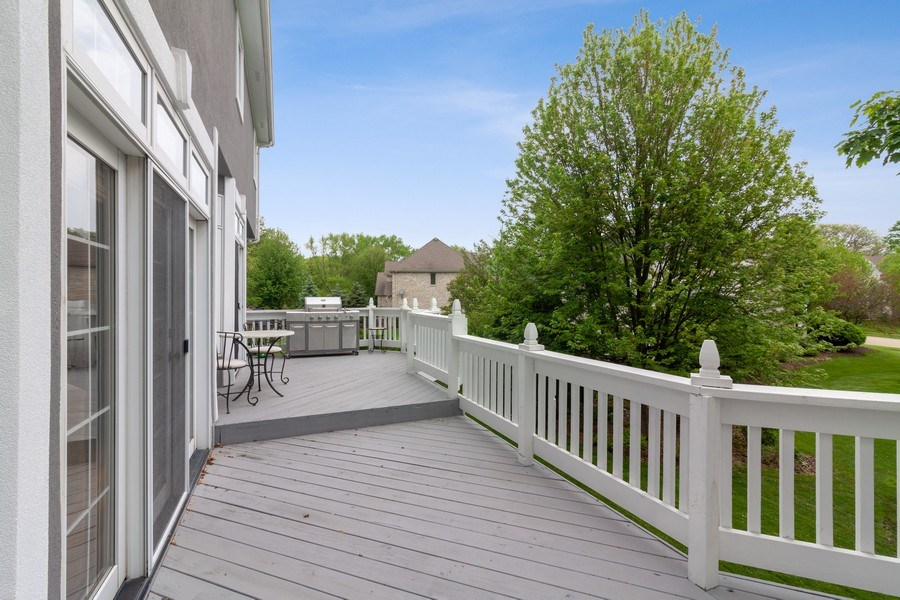 Real Estate Photography - 2S375 Canterbury Court, Glen Ellyn, IL, 60137 - Deck