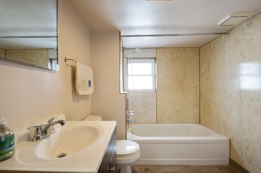 Real Estate Photography - 3619 North Nordica Ave, Chicago, IL, 60634 - 3rd Bathroom