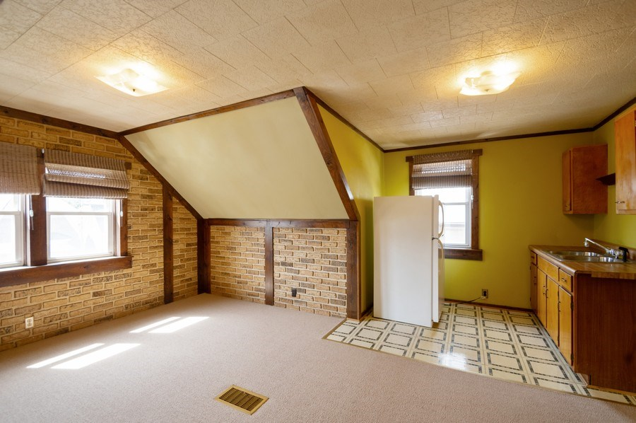 Real Estate Photography - 3619 North Nordica Ave, Chicago, IL, 60634 - In-Law Suite