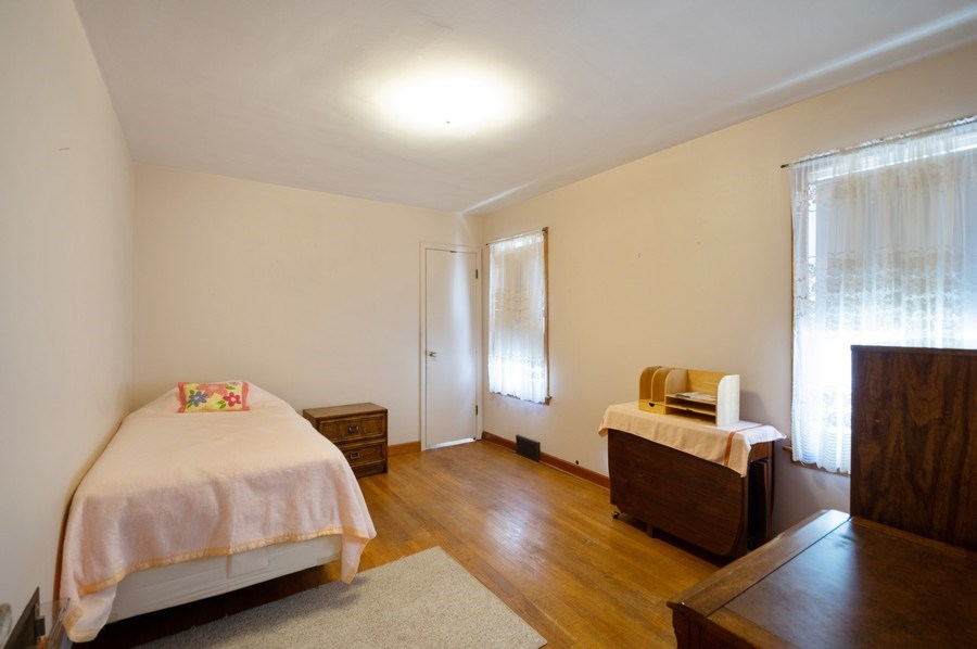 Real Estate Photography - 3619 North Nordica Ave, Chicago, IL, 60634 - Bedroom
