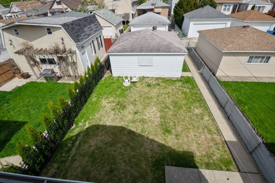 Real Estate Photography - 3619 North Nordica Ave, Chicago, IL, 60634 - Back Yard