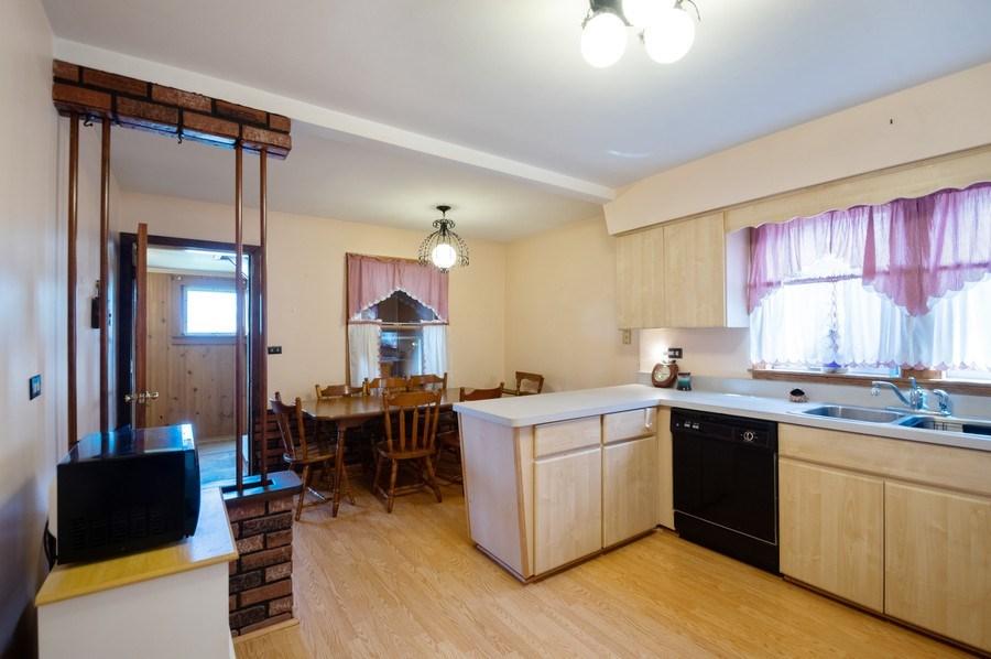 Real Estate Photography - 3619 North Nordica Ave, Chicago, IL, 60634 - Kitchen