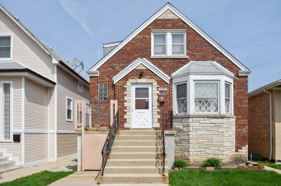Real Estate Photography - 3619 North Nordica Ave, Chicago, IL, 60634 - Front View