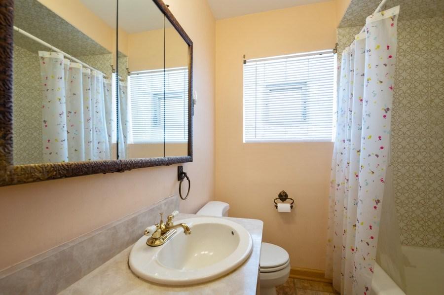 Real Estate Photography - 3619 North Nordica Ave, Chicago, IL, 60634 - Bathroom