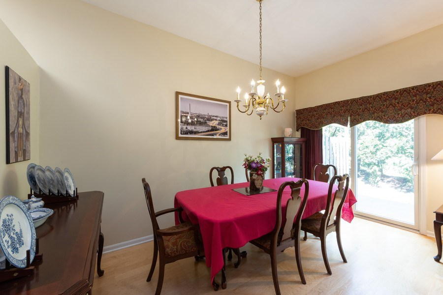 Real Estate Photography - 1003 Arbor Court, Mount Prospect, IL, 60056 - Dining Room