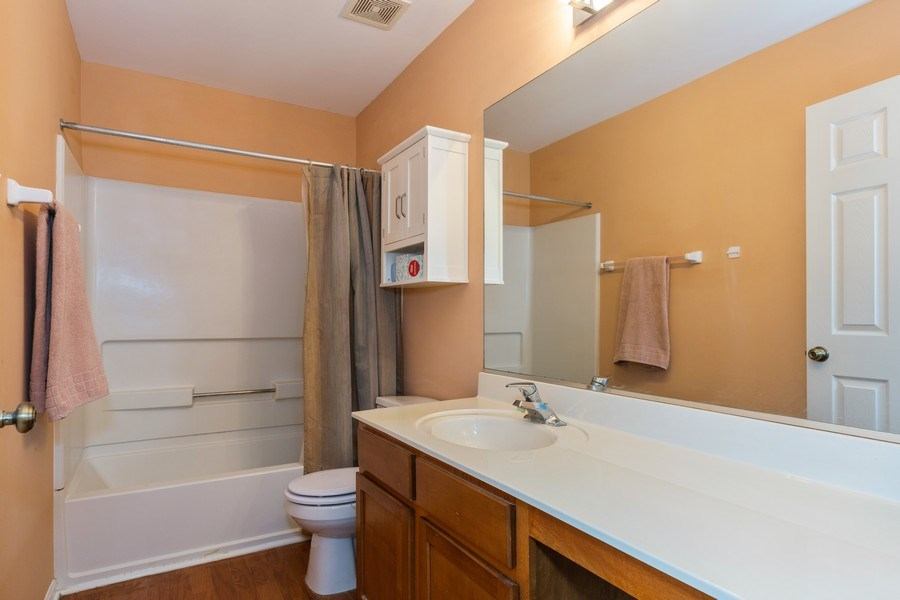 Real Estate Photography - 16706 W. Adobe Drive, Lockport, IL, 60441 - Master Bathroom