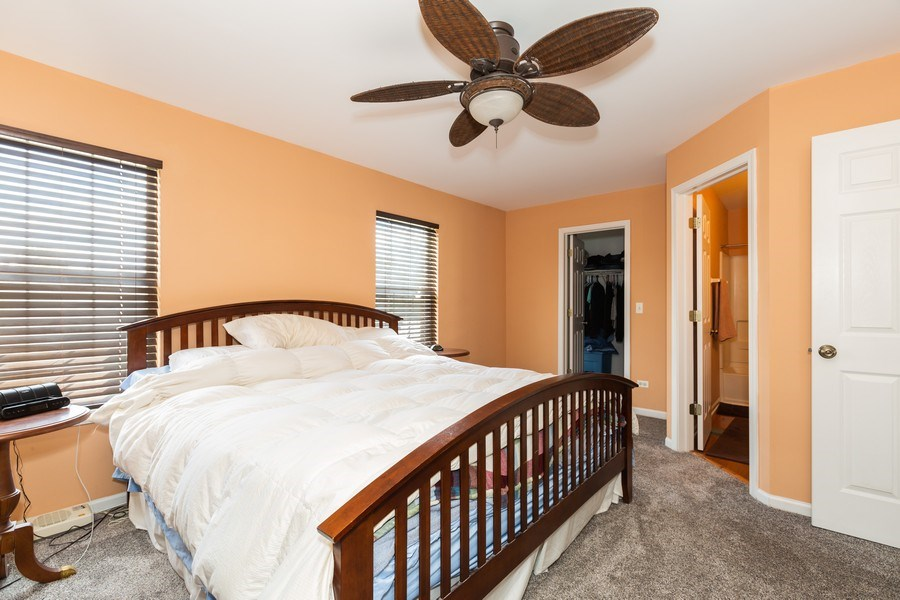 Real Estate Photography - 16706 W. Adobe Drive, Lockport, IL, 60441 - Master Bedroom