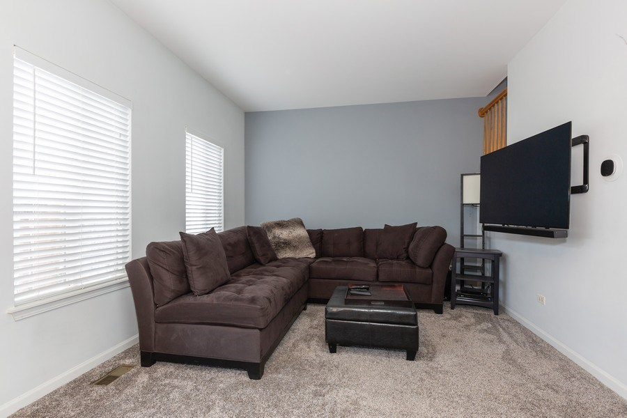 Real Estate Photography - 16706 W. Adobe Drive, Lockport, IL, 60441 - Family Room