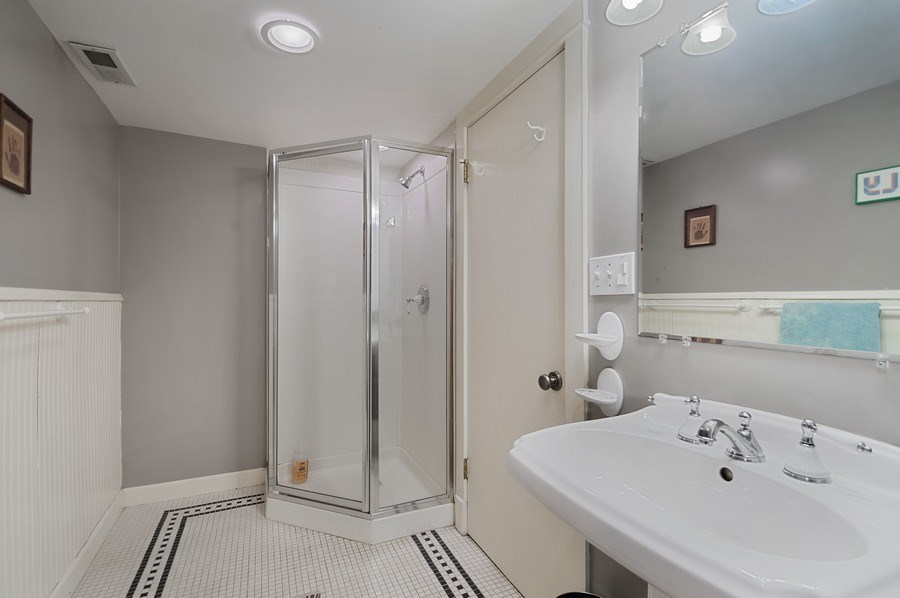 Real Estate Photography - 4220 N. Hermitage Avenue, Chicago, IL, 60613 - 3rd Bathroom