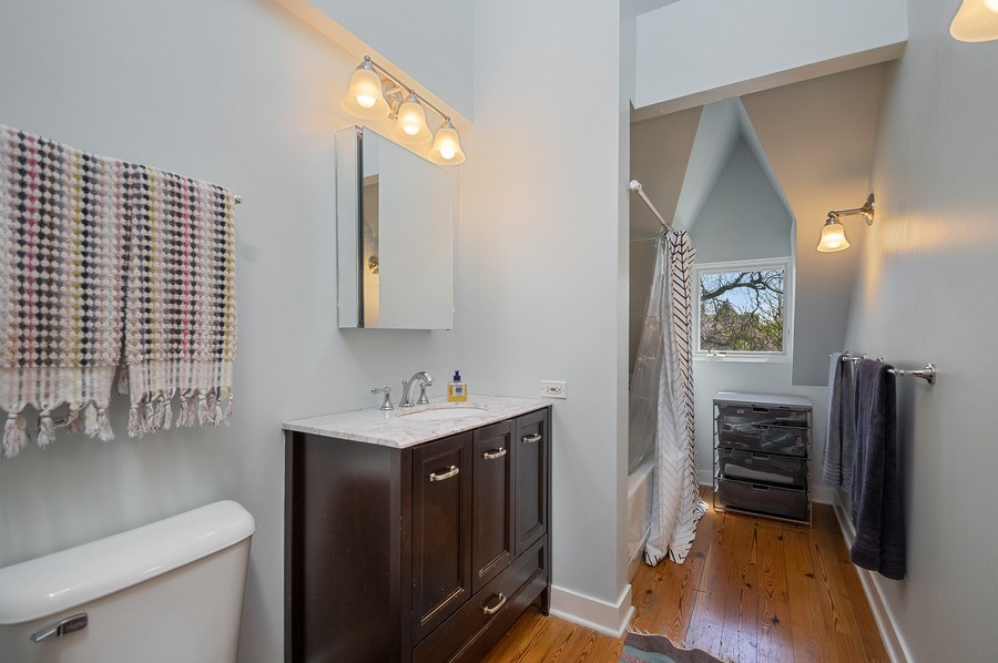 Real Estate Photography - 4220 N. Hermitage Avenue, Chicago, IL, 60613 - Master Bathroom