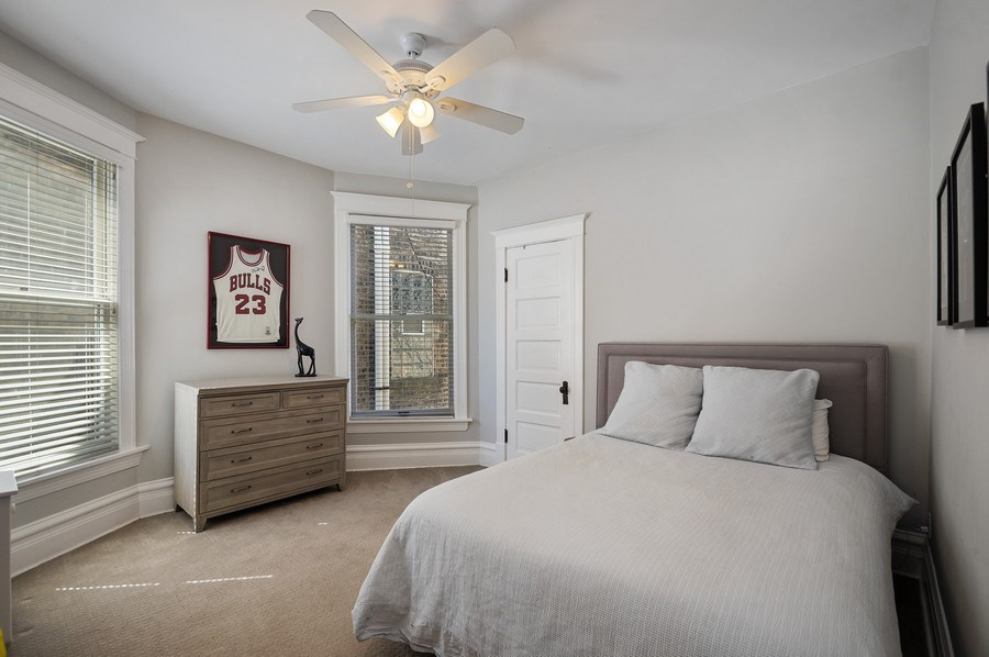 Real Estate Photography - 4220 N. Hermitage Avenue, Chicago, IL, 60613 - 2nd Bedroom