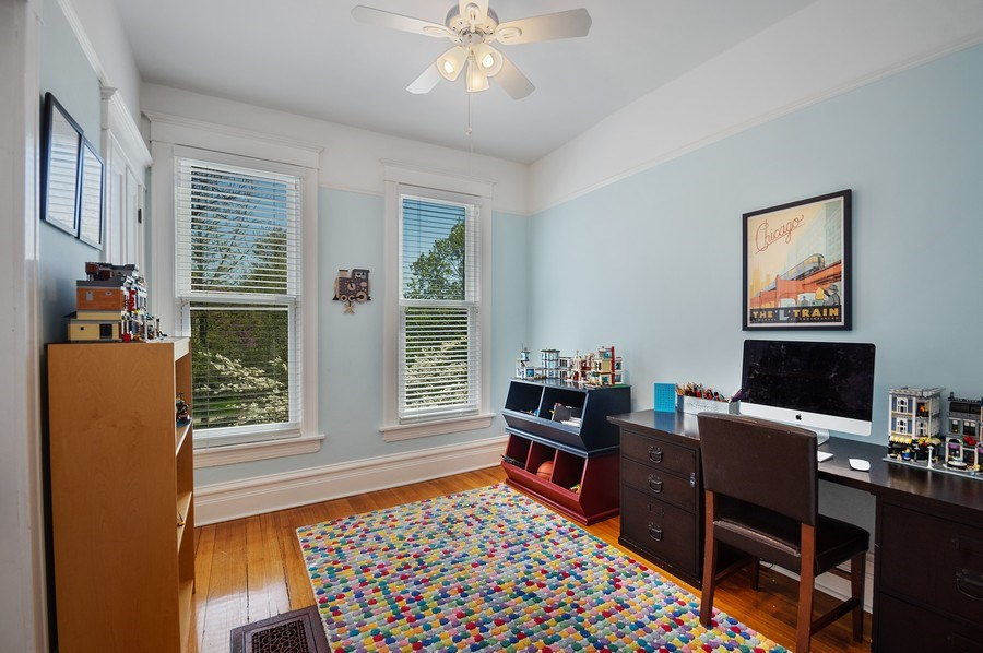 Real Estate Photography - 4220 N. Hermitage Avenue, Chicago, IL, 60613 - 4th Bedroom