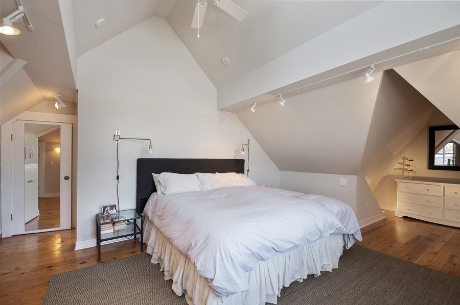 Real Estate Photography - 4220 N. Hermitage Avenue, Chicago, IL, 60613 - Master Bedroom